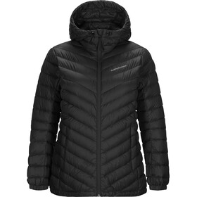 Peak Performance Frost Daunen Kapuzenjacke Damen black